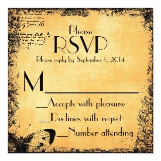 RSVPカードに一致させるヴィンテージのおとぎ話愛引用文 カード