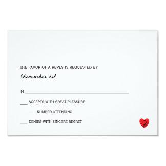 RSVP |の氏夫人 カード