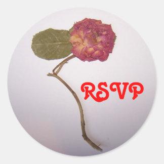RSVP ラウンドシール