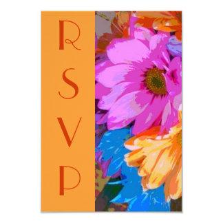 """""""RSVP -熱狂するなデイジーの"""" [a]パリの文字 カード"""