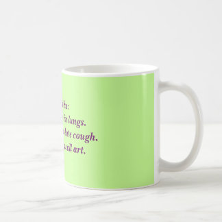 RTの俳句: 粘液性深い コーヒーマグカップ