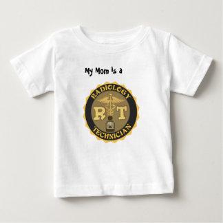RTの放射線学の技術者のバッジ-ロゴ ベビーTシャツ