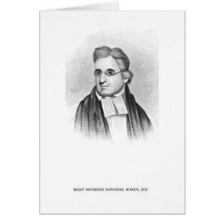 Rt. Nathaniel Bowen Rev. カード