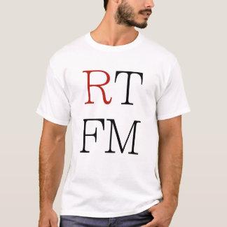 RTFMはf*ckingマニュアルにクールなオタクをギフトのティー読みました Tシャツ