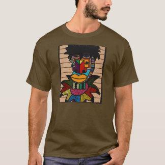 "Ruchellアレキサンダー著""デニスブラウン"" Tシャツ"