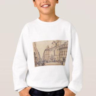 Rudo著ウィーンのMichaelerplatzそしてカーボン市場 スウェットシャツ