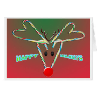 Rudulphのクリスマスカード カード