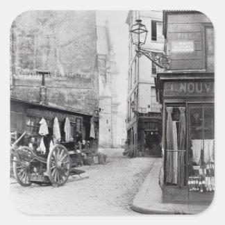 Rue de la Montagne Sainte-Genevieve スクエアシール