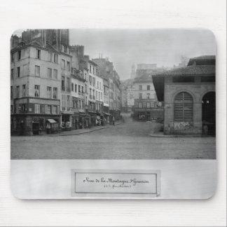 Rue de la Montagne Sainte-Genevieve、パリ マウスパッド