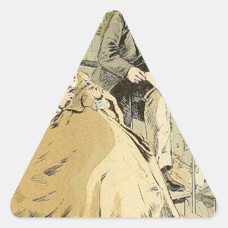 Rue de Rivoli 1864年のバルコニー 三角形シール