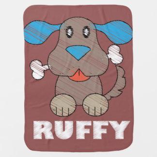 Ruffy -ベビーブランケットの ベビー ブランケット