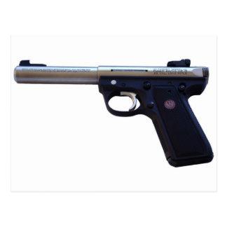 Rugerのピストル銃 ポストカード