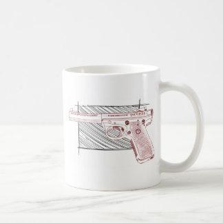 RugerターゲットMK III コーヒーマグカップ
