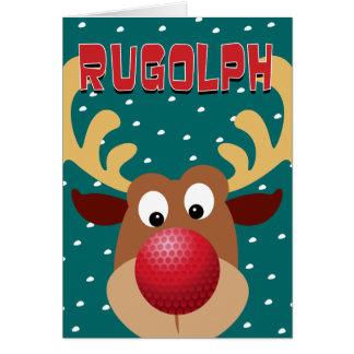 Rugolphトナカイ カード
