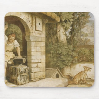 Ruhla、c.1854-55の鍛治屋 マウスパッド