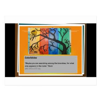 Rumiおよび色 ポストカード