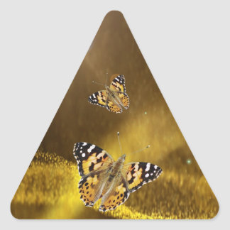 Rumiは再度恋に落ちます 三角形シール