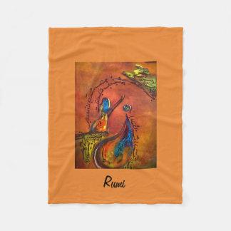 Rumi's Rediscovery フリースブランケット