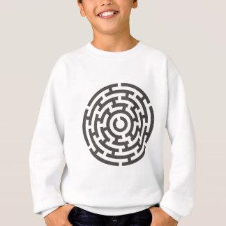 rundesの迷路の円形の当惑 スウェットシャツ
