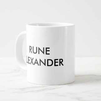 Runeのアレキサンダーのコーヒー・マグ ジャンボコーヒーマグカップ