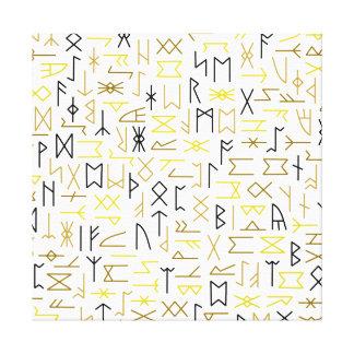 Runes キャンバスプリント