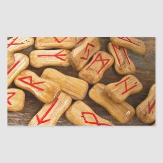 Runes 長方形シール