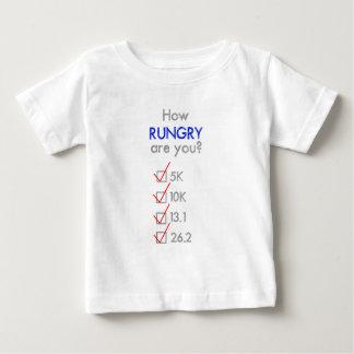 RUNGRYはいかにですか。 マラソン ベビーTシャツ