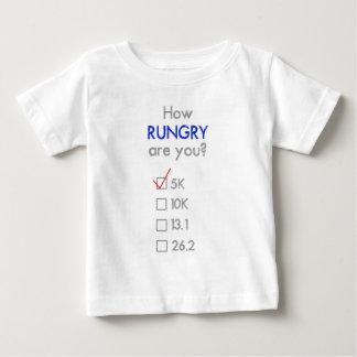 RUNGRYはいかにですか。 5K ベビーTシャツ