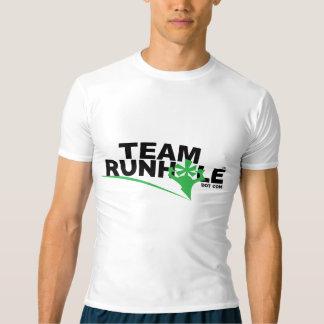 Runholeの圧縮のワイシャツ Tシャツ