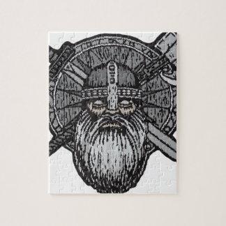 runicバイキングの人のドイツの北欧のnorse ジグソーパズル