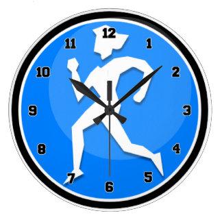 Runner女性 ラージ壁時計