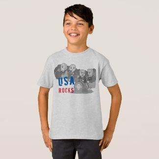 Rushmoreのロック・バンド Tシャツ