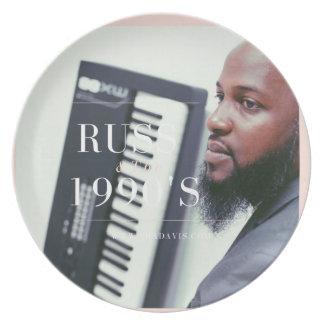 Russのキーボードプレーヤー プレート