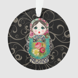 Russian Dolls Christmas Baby's First Ornament オーナメント
