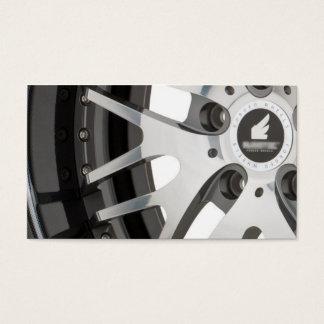 RusstecWheels_R26_CarbonFiberの車輪カード 名刺