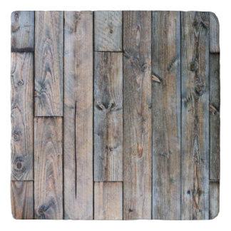 Rustic Barnwood Marble Stone Trivets トリベット