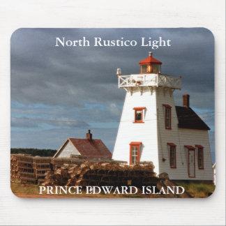 Rustico北のライト、プリンス・エドワード・アイランドのマウスパッド マウスパッド