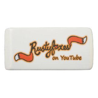 Rustyfoxes色のカスタマイズ可能な正方形の消す物 消しゴム