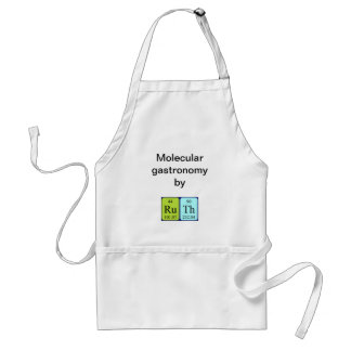 Ruth periodic table name apron スタンダードエプロン
