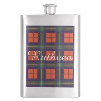 Ruthvenの一族の格子縞のスコットランド人のタータンチェック フラスク