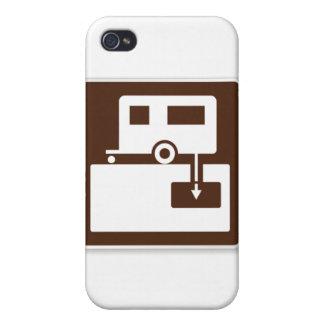 RVのダンプの場所 iPhone 4/4S カバー
