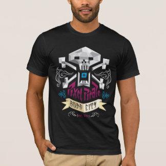 RVAピクセルスカル Tシャツ