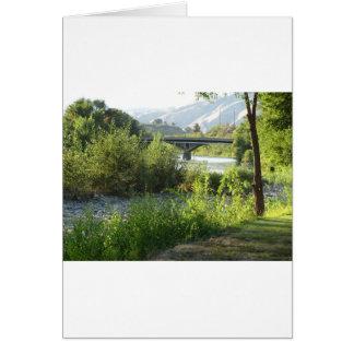 Rver銀行からの橋 カード