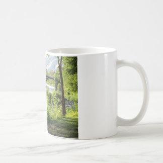 Rver銀行からの橋 コーヒーマグカップ