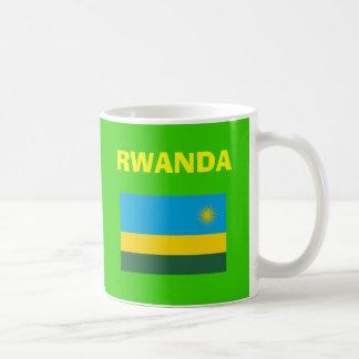 RW Rwanda*の国番号のマグ コーヒーマグカップ