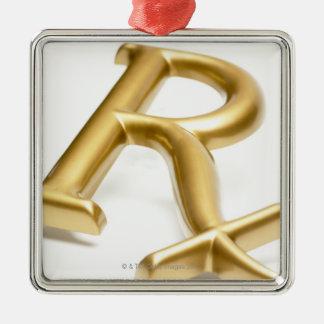 Rxの薬剤の印 メタルオーナメント