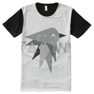 RyanRaelynnの鳥のTシャツ オールオーバープリントシャツ