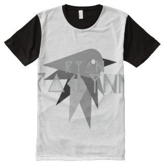 RyanRaelynnの鳥のTシャツ オールオーバープリントT シャツ