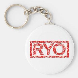 Ryoのスタンプ キーホルダー