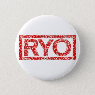 Ryoのスタンプ 5.7cm 丸型バッジ